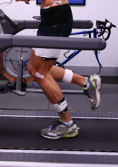 3D running biomechanical analysis at Melbourne Sports & Allied Health Clinic